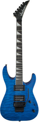 Jackson JS Series Dinky™ Arch Top JS32Q, Rosewood Fingerboard Transparent Blue электрогитара