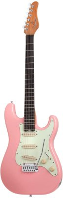 SCHECTER NICK JOHNSTON DS ATOMIC CORAL электрогитара