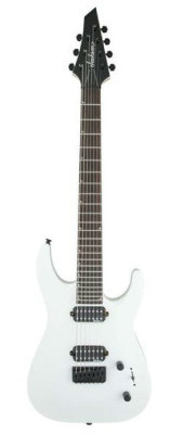 Jackson JS Series Dinky™ JS32-7, Rosewood Fingerboard Snow White электрогитара