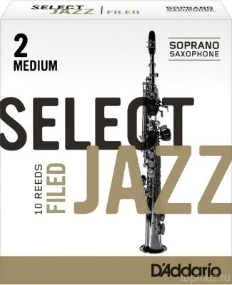 RICO RSF10SSX2M Select Jazz Filed 2M 10 шт трости для саксофона сопрано