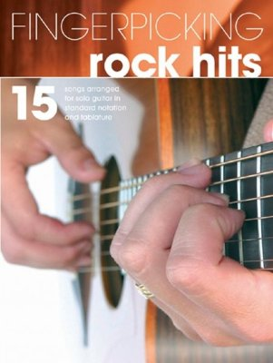 HLE90002814- FINGERPICKING ROCK HITS GTR
