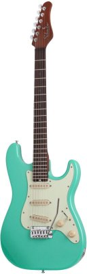SCHECTER NICK JOHNSTON DS TRAD A.GREEN электрогитара