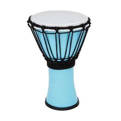 "TOCA TFCDJ-7PB Freestyle Colorsound Djembe X-Small Pastel Blue джембе синтетический 7""х12.5"""