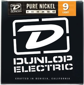 DUNLOP DEK Pure Nickel Light 9-42 струны для электрогитары
