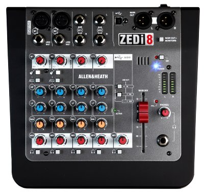 МИКШЕРНЫЙ ПУЛЬТ ALLEN & HEATH ZEDi8