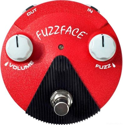 DUNLOP FFM6 Fuzz Face Mini Band of Gypsys эффект гитарный фузз