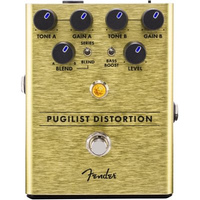 FENDER PUGILIST DISTORTION PEDAL педаль эффектов - дисторшн