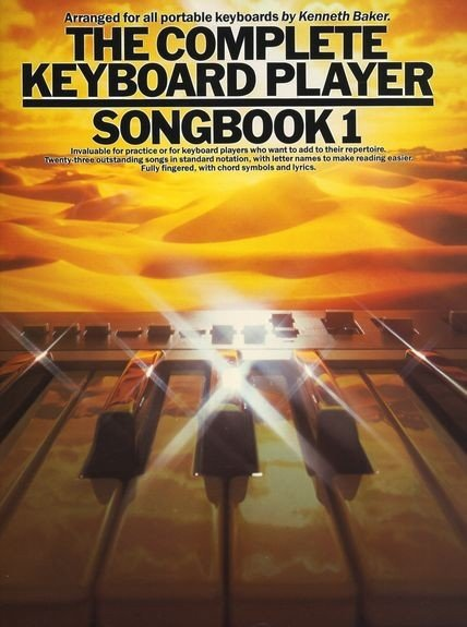 AM39116 The Complete Keyboard Player: Songbook 1