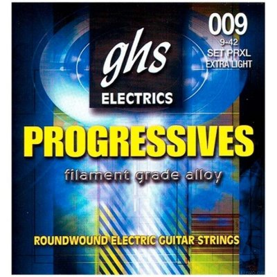 GHS PRXL 9-42 Extra Light Progressives Electrics струны для электрогитары