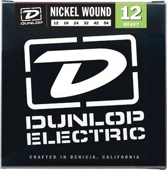 DUNLOP DEN Nickel Plated Steel Heavy 12-54 струны для электрогитары