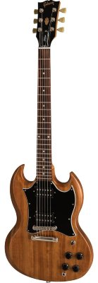 GIBSON 2019 SG TRIBUTE NATURAL WALNUT электрогитара с кейсом