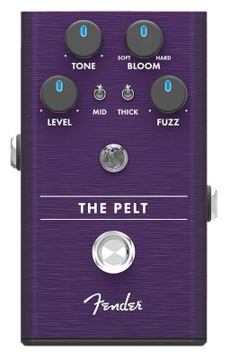Fender The Pelt Fuzz Pedal педаль эффектов - фузз