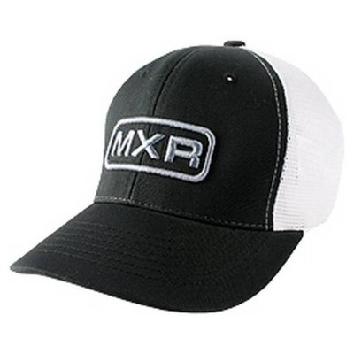 DUNLOP DSD21-42 MXR Truckers's Hat Black Front/White Back бейсболка
