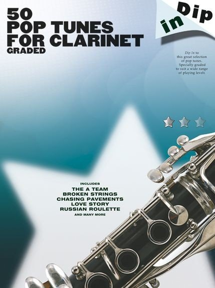 AM1004718 Dip In: 50 Graded Pop Clarinet Solos