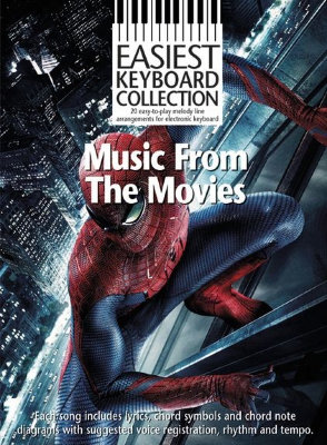 AM1005840 Easiest Keyboard Collection: Music From The Movies книга:...