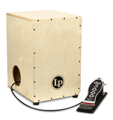 LATIN PERCUSSION LP1400NWP Cajon Matador Inside Pedal кахон с педалью