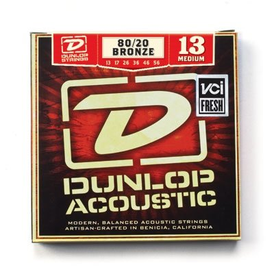 DUNLOP DAB 80/20 Bronze Medium 13-56 струны для вестерн-гитары