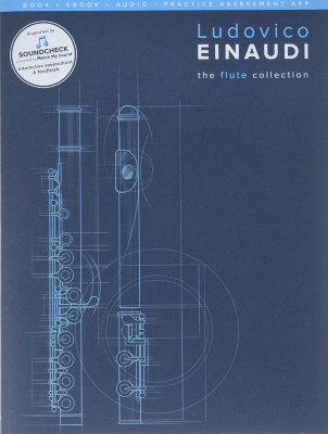 CH85008 EINAUDI THE FLUTE COLLECTION FLUTE & PIANO ACCOMP SC/PT BOOK/MEDIA