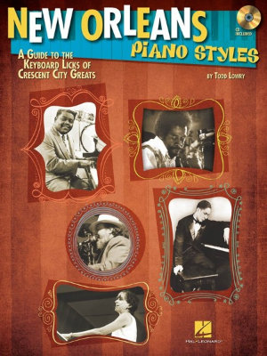 HL00111674 New Orleans Piano Styles: A Guide To The Keyboard Licks Of Crescent City Greats книга с нотами и аккордами