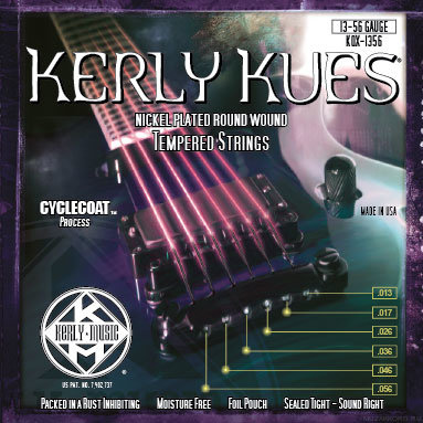 KERLY KQX-1356 Kues Nickel Plated Steel Tempered струны для электрогитары