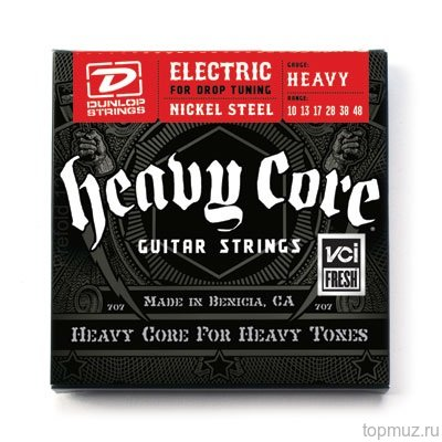DUNLOP DHCN Heavy Core NPS HEAVY 10-48 струны для электрогитары
