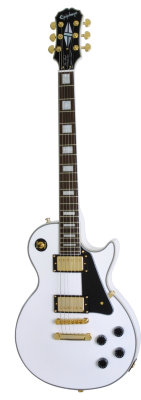 EPIPHONE LES PAUL CUSTOM PRO ALPINE WHITE электрогитара