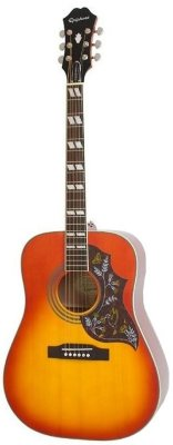 EPIPHONE HUMMINGBIRD PRO ACOUSTIC/ELECTRIC W/SHADOW FADED CHERRY BURST электроакустика