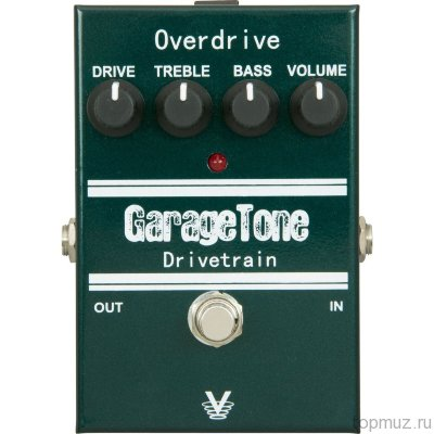 VISUAL SOUND GTDRIVE Garage Tone Drivetrain Overdrive