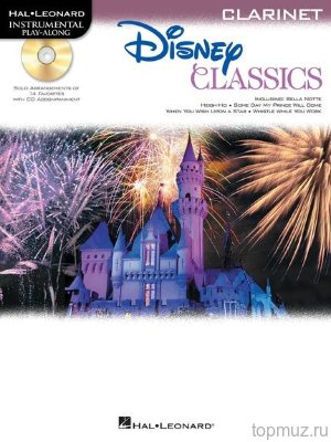 HL00842627 - Clarinet Play-Along: Disney Classics - книга: классические...
