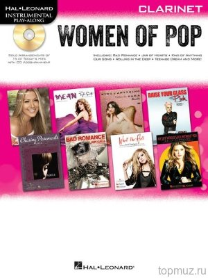 HL00842651 - Hal Leonard Instrumental Play-Along: Women of Pop - Clarinet...