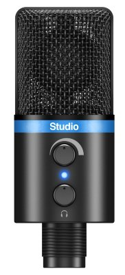 IK MULTIMEDIA iRig Mic Studio - Black микрофон USB для iOs и Android устройств