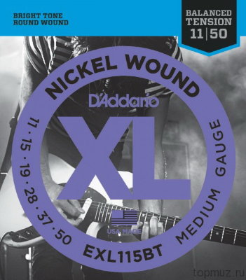 D'ADDARIO EXL115BT Blues/Jazz Rock 11-50