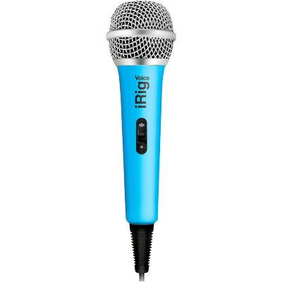 IK MULTIMEDIA iRig Voice - Blue караоке микрофон