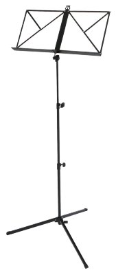 Пюпитр складной 63-125 см GEWA Music Stand Light Black