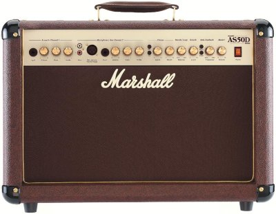 "MARSHALL AS50D 50W 2x8"" Acoustic Soloist Combo With Horn"