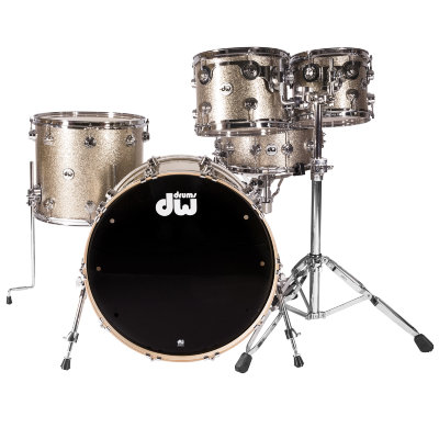 DW Collector Finish Ply Nickel Sparkle ударная установка (только барабаны)