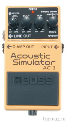 Педаль BOSS AC-3 Acoustic Simulator для электрогитары