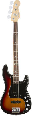 FENDER American Elite Precision Bass® Ebony Fingerboard 3-Color Sunburst бас-гитара