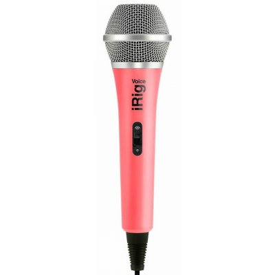IK MULTIMEDIA iRig Voice - Pink караоке микрофон