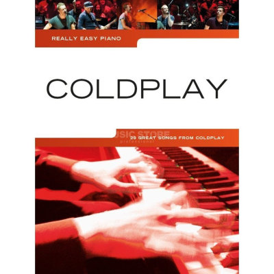 AM1009547 REALLY EASY PIANO COLDPLAY 2014 UPDATE EASY PF BOOK