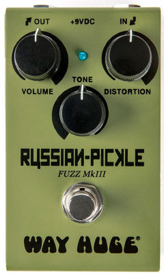 DUNLOP WM42 Way Huge® Smalls™ Russian-Pickle™ Fuzz эффект гитарный, фузз