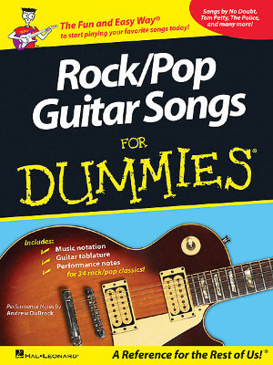 HAL LEONARD GTRCL ROCK/POP GUITAR DUMMIES