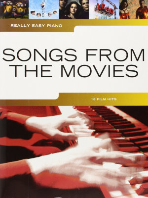 AM1009932 REALLY EASY PIANO SONGS FROM THE MOVIES EASY PF BOOK