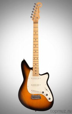 Reverend Six Gun III Guitar Tobacco Burst электрогитара