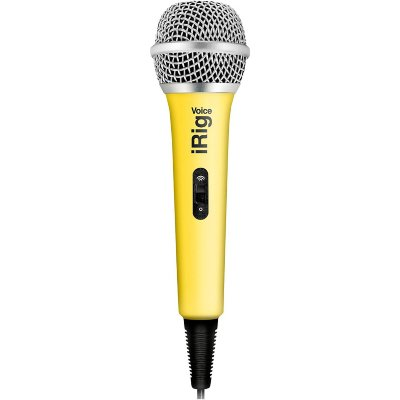 IK MULTIMEDIA iRig Voice - Yellow караоке микрофон