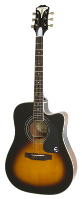 EPIPHONE PRO-1 ULTRA Acoustic/Electric Vintage Sunburst электроакустическая гитара