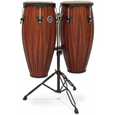 "LATIN PERCUSSION LP647NY-CMW Conga Set City конга 11"" и 12"", стойка в комплекте"