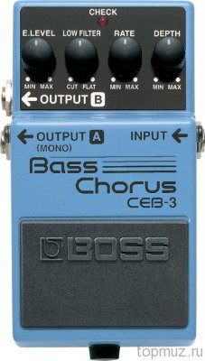 Педаль BOSS CEB-3 Bass Chorus для бас гитары