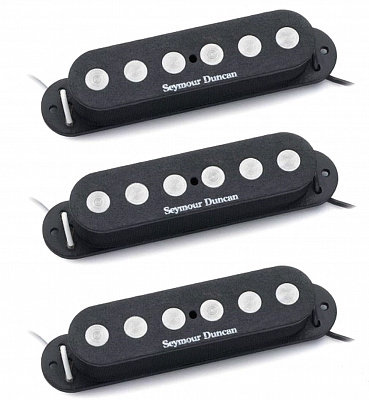 SEYMOUR DUNCAN SSL-4 QUARTER-POUND STRAT CALIBRATED SET - комплект звукоснимателей для бас-гитары
