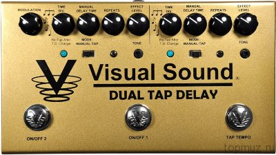 VISUAL SOUND V3DTD Dual Tap Delay